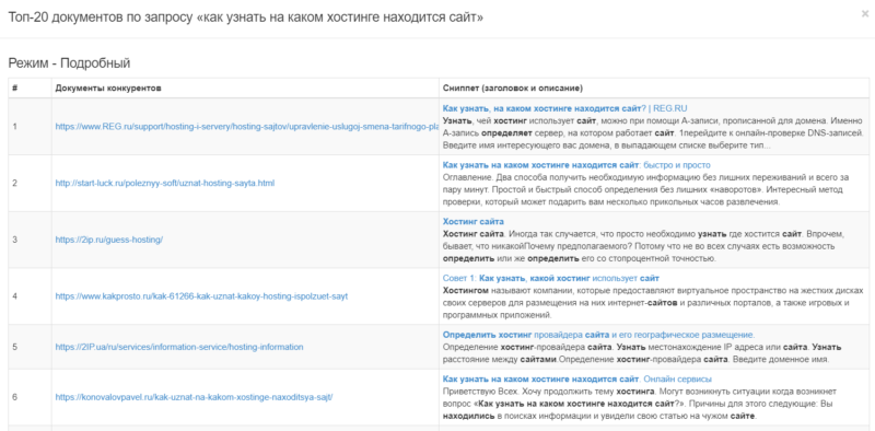 Проверка позиций в Arsenkin Tools