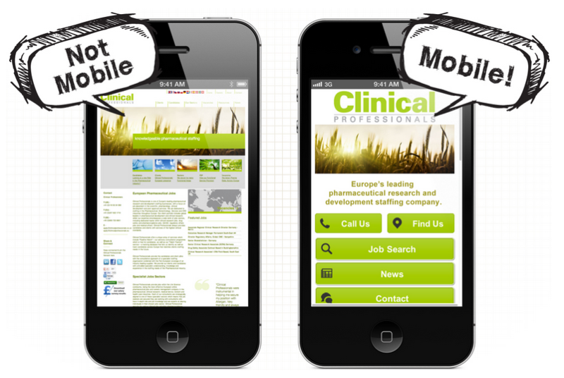 Работа с мобильными сайтами