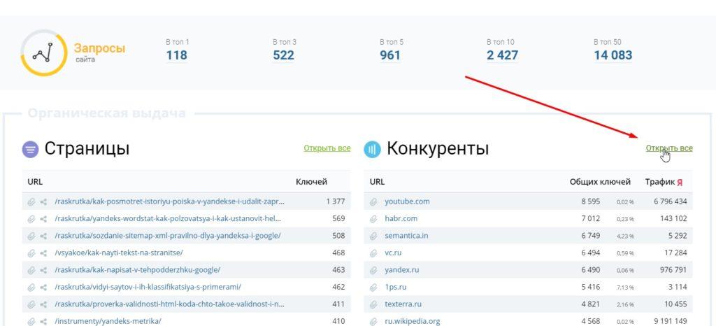 Keys.so и его применение в продвижении сайтов